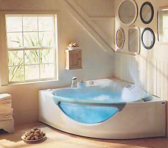 Vasche Idromassaggio per il benessere nel bagno della propria casa ...